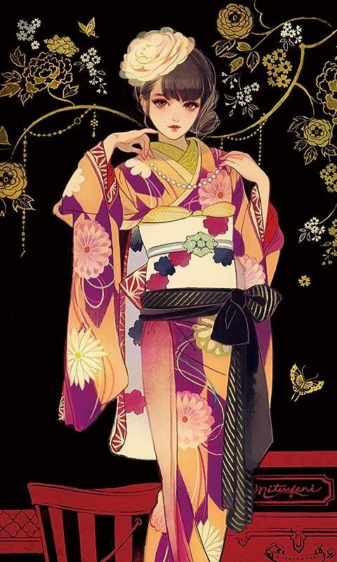 マツオヒロミ おめかし FVGA(480×800)壁紙画像