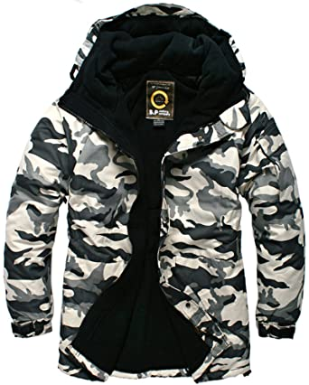 293cd3dcb94 Southplay Mens Waterproof Sky-snowboard Military Jacket Light Military  Bj107 (US Large)