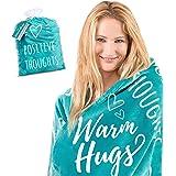 Get Well Blanket I Inspirational Throw Blanket I Healing Blanket I Positivity Blanket I Healing Thoughts Blanket I Motivation
