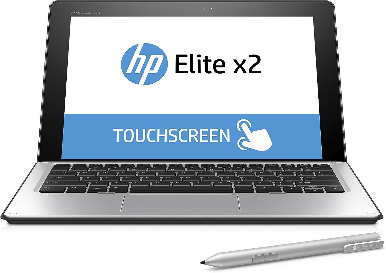 "HP Elite x2 Business 1012 T8Z04UT#ABA Laptop (Windows 10, Intel Core M5-6Y54, 12"" OLED Screen, Storage: 128 GB, RAM: 4 GB) Black/Grey"