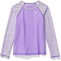 Speedo Playera con protección Solar Camisa de protección de Sarpullido para Niñas