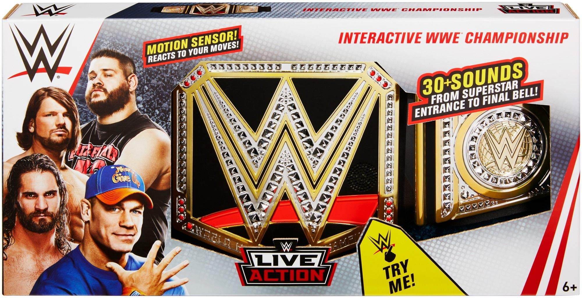 WWE Live Action Interactive Championship Playset by WWE (Image #6)