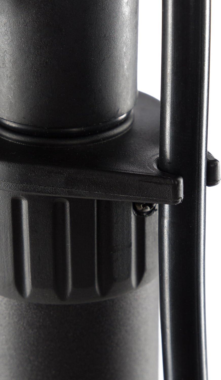indicateur de pression inclus Ultrasport Pompe /à air pour v/élo et voiture Schrader pompe /à pied avec manom/ètre Presta pompe /à pied pratique pour les valves standard de voiture et de v/élo Dunlop