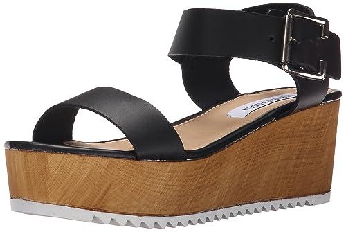 9b4a12c2d3f64 Steve Madden Women's NYLEE Platform Sandal