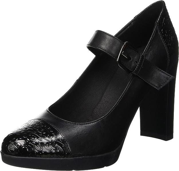 TALLA 39 EU. Geox D Annya High B, Zapatos de Tacón para Mujer