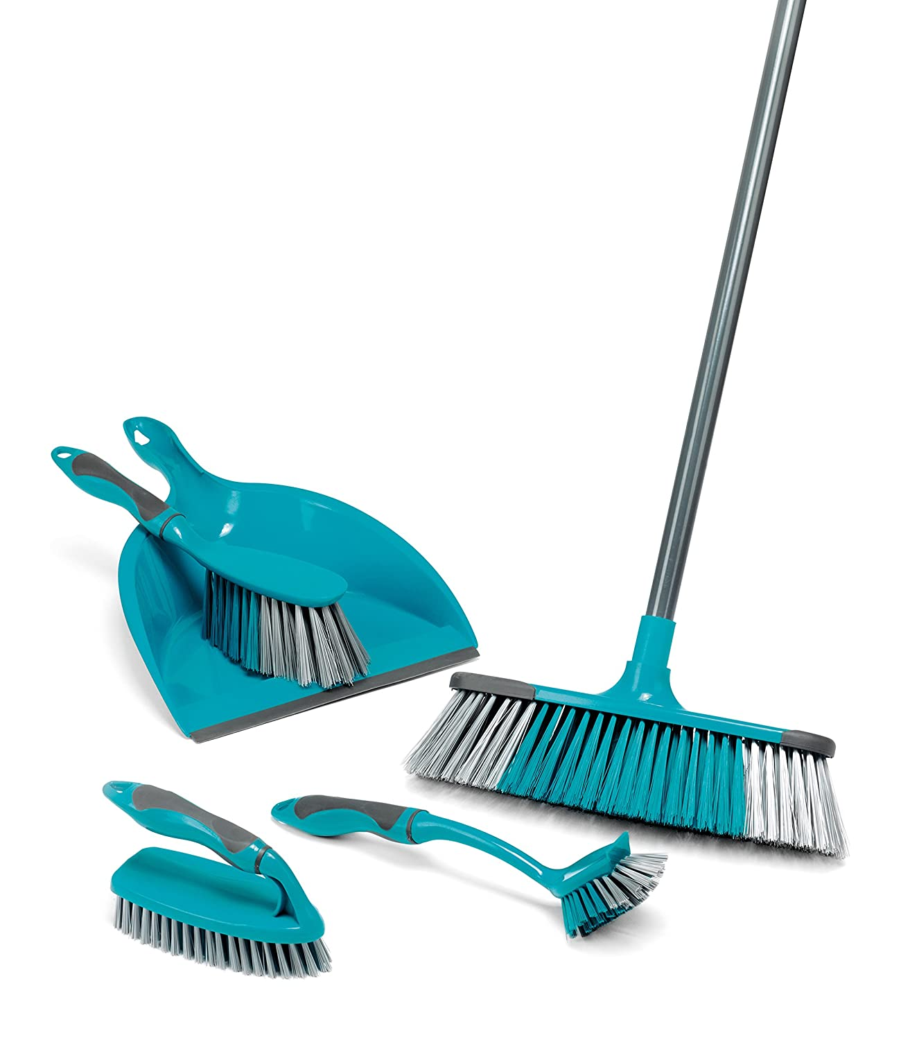 Beldray LA024152 Turquoise 5 Piece Cleaning Set, 9 x 29 x 33 cm LA024152TQ