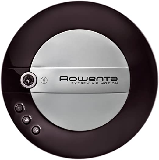 Rowenta Extreme Air Motion Iconic Black - Robot aspirador (flujo de aire 6 l/s), color negro: Amazon.es: Hogar