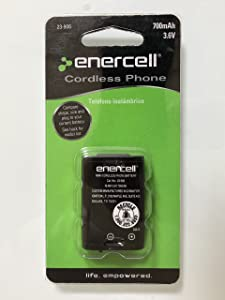 Enercell 3.6V/700mAh Ni-MH Phone Battery for Panasonic (23-906)