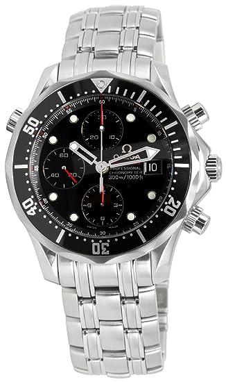 Omega 213.30.42.40.01.001 - Reloj de pulsera hombre, color plateado: Amazon.es: Relojes