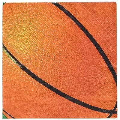 Basketball Fan Beverage Napkins: Toys & Games
