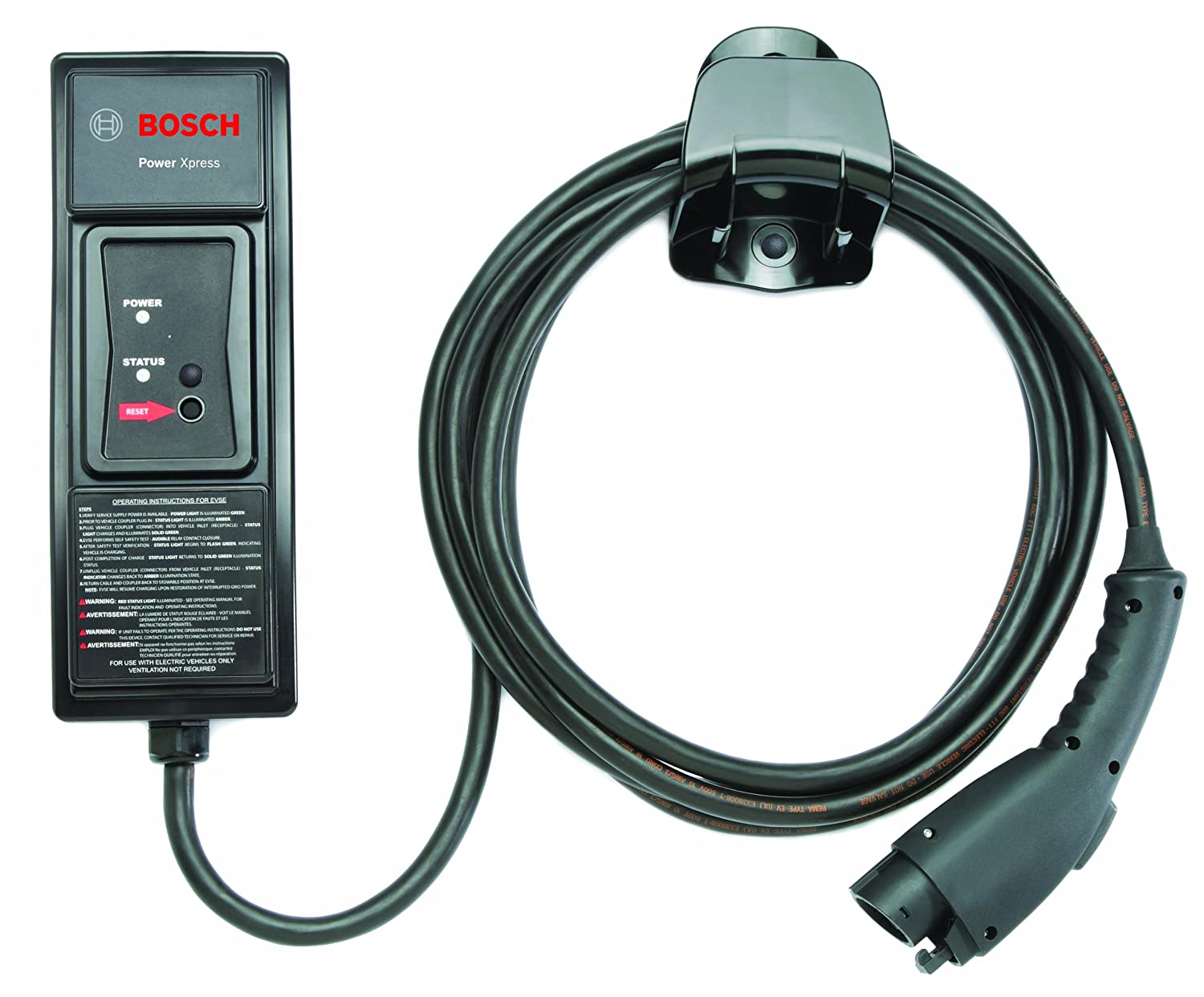 Bosch EL-50600-B Power Xpress 240V Charging Station with Cord Holder