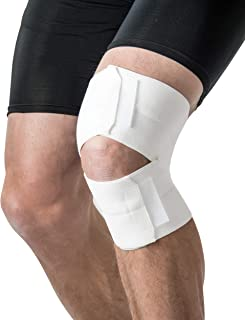 product image for Swede-O Elastic Knee Wrap, White - 4""
