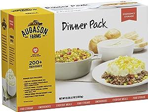 Augason Farms Dinner Pack Emergency Food Storage Kit 15 lbs 8.1 oz