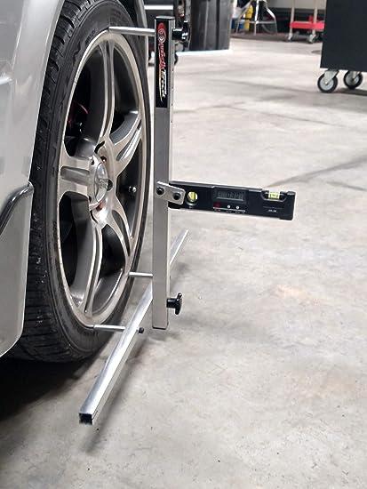 Wheel Alignment Tools >> Amazon Com Quicktrick 4th Gen Portable Wheel Alignment Kit 17 22
