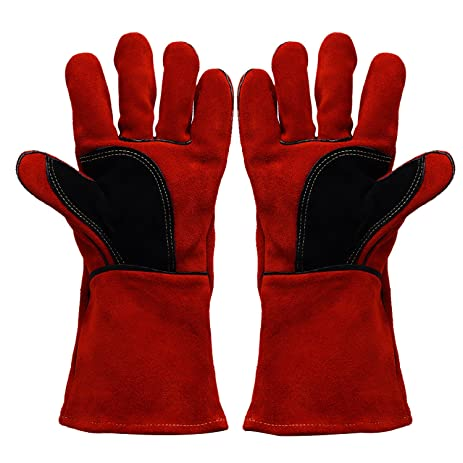 Ibowooforrest Heavy Duty Heat And Fire Resistant Gloves Perfect For
