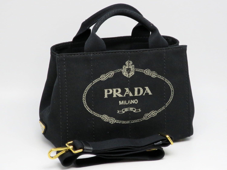 PRADA(プラダ) キャンバス 2WAYトートバッグ B2439G ZKI 002[並行輸入品] [ウェア&シューズ] B00I39KD7U