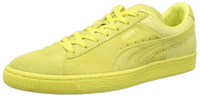 newest collection 6f93f e72d7 Puma Unisex-Erwachsene 361372 Sneaker, Violett 45 EUGelb (Limelight)