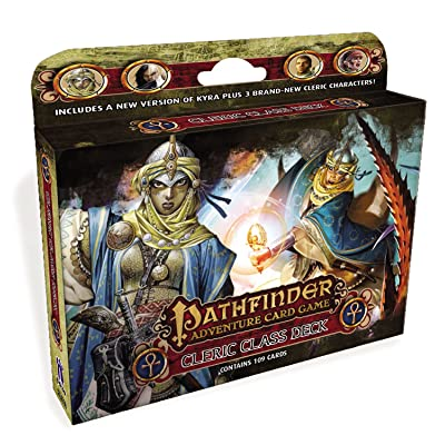 Pathfinder Adventure Card Game: Class Deck - Cleric PZO6802: MikeSelinker: Toys & Games