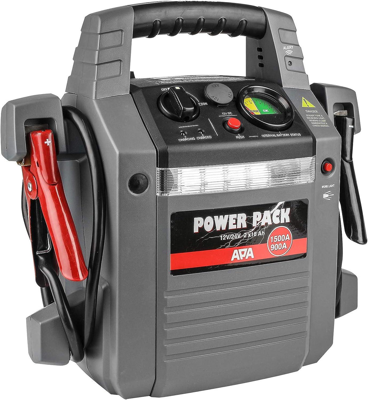 APA Lithium Powerpack 35.000mAh mit Starthilfe 12//24V