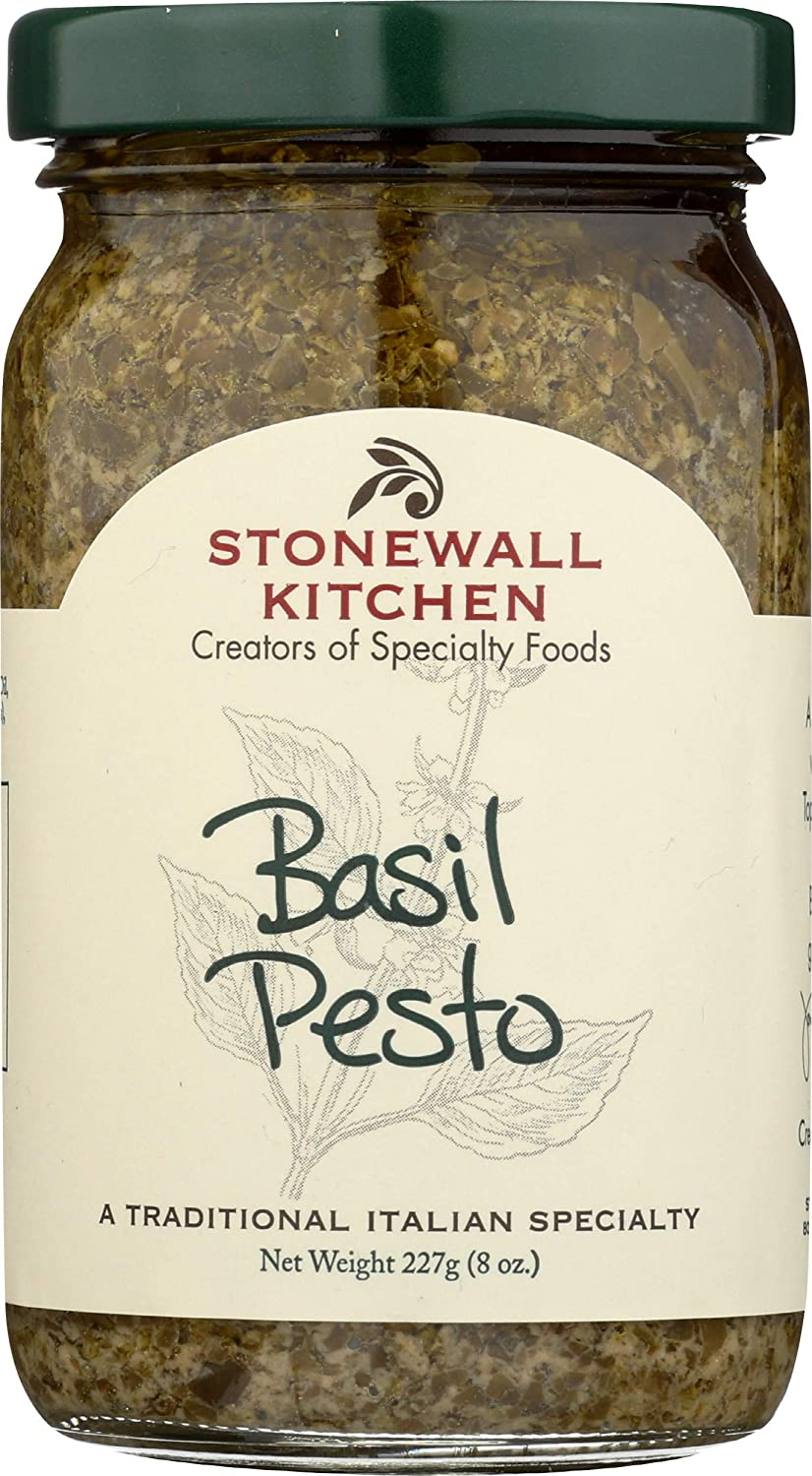 Stonewall Kitchen Pesto, Basil, 8 Ounce