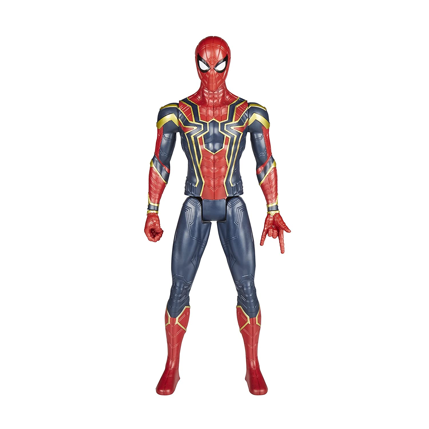 The Avengers AVENGERS Marvel Infinity War Titan Hero Power FX Iron Spider Figure Hasbro E0608102