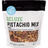 Amazon Brand - Happy Belly Deluxe Pistachio Mix, 16 Ounce