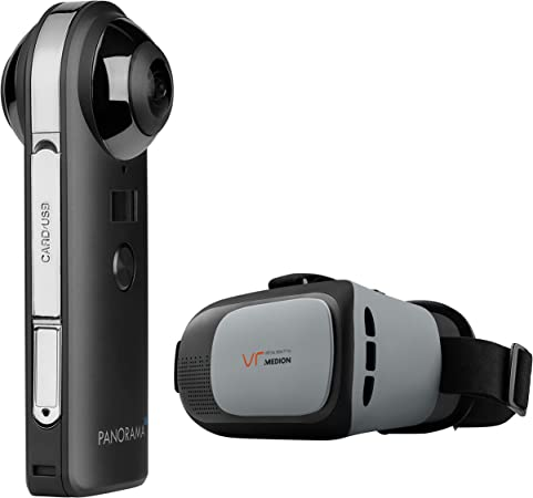 Medion P47190 360 Grad Kamera Inkl Vr Headset X83070 Elektronik