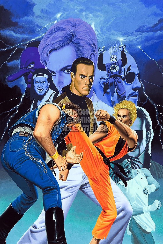 CGC enorme cartel - Arte de la lucha Arcade PS2 - EXT001 ...