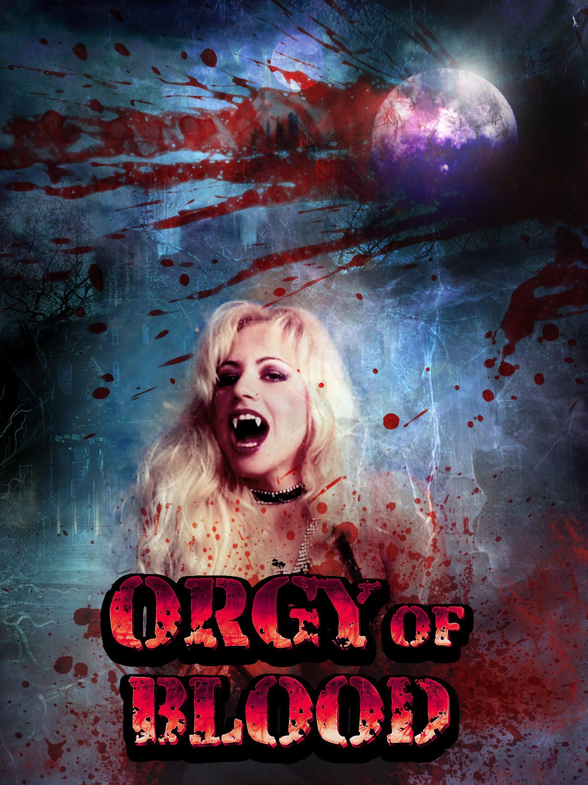 Countess dracula orgy of love, nude actress fucked by