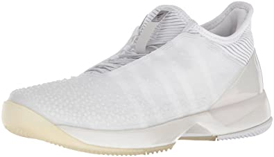 pretty nice ed5a0 bda37 adidas Womens Adizero Ubersonic 3 w LTD Tennis Shoe WhiteLight Solid Grey  Heather