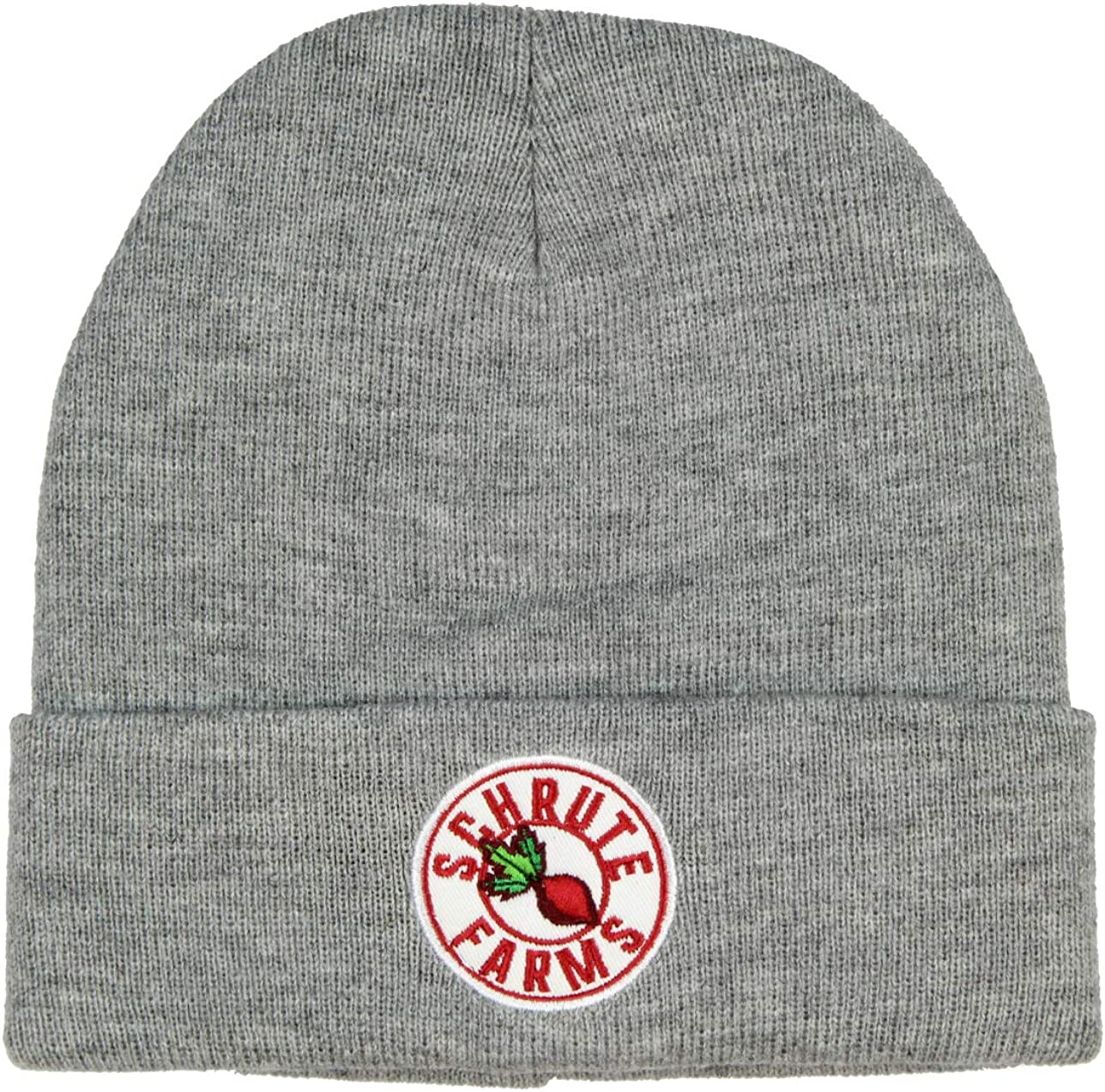 CultureFly The Office Schrute Farms Beets Beanie (Grey)
