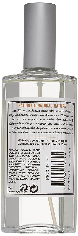 Amazon.com: Berdoues Eau de Cologne Spray, Natural, 4.2 Fl Oz: Luxury Beauty
