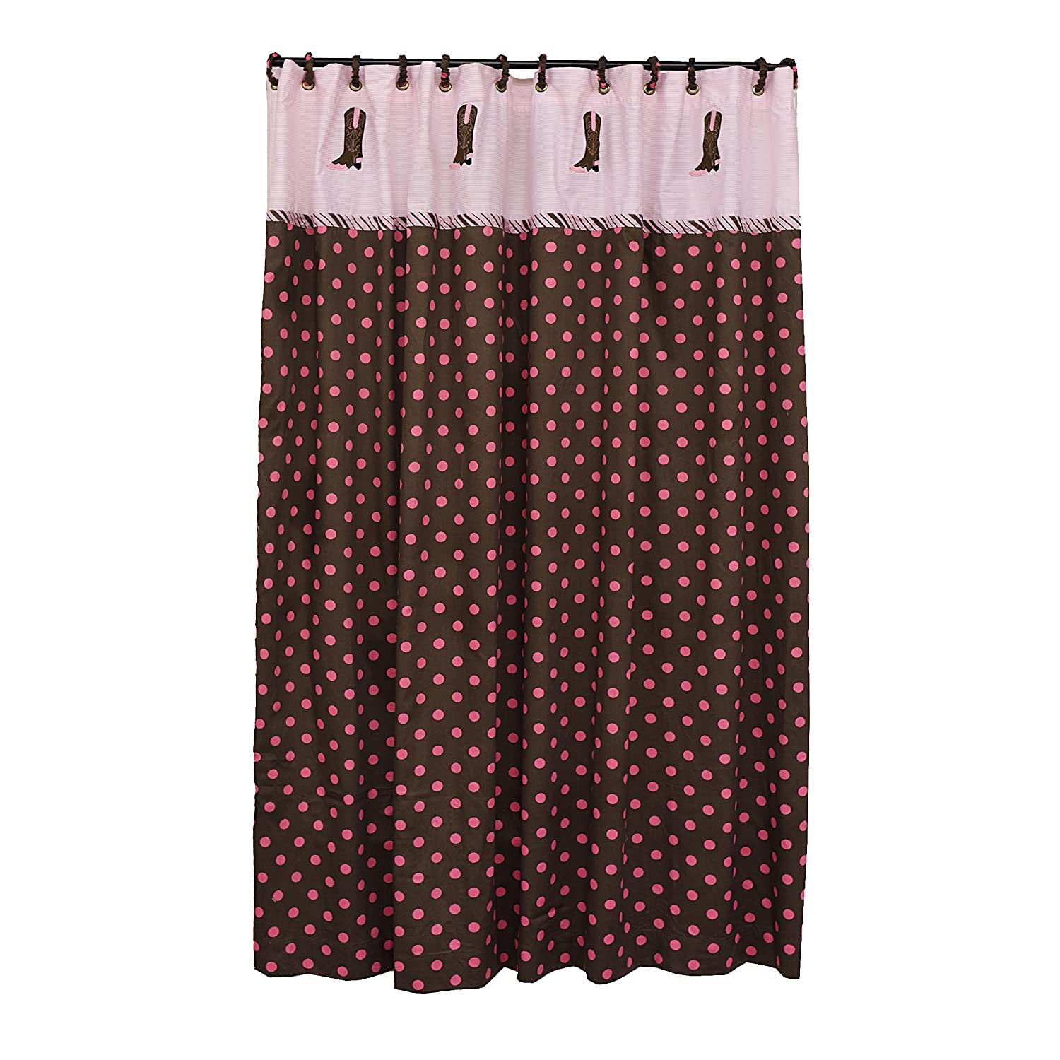 Pink Boots Shower Curtain