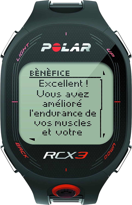 Polar RCX3 Pulsómetro de Entrenamiento, Unisex, Negro: Polar: Amazon.es: Deportes y aire libre