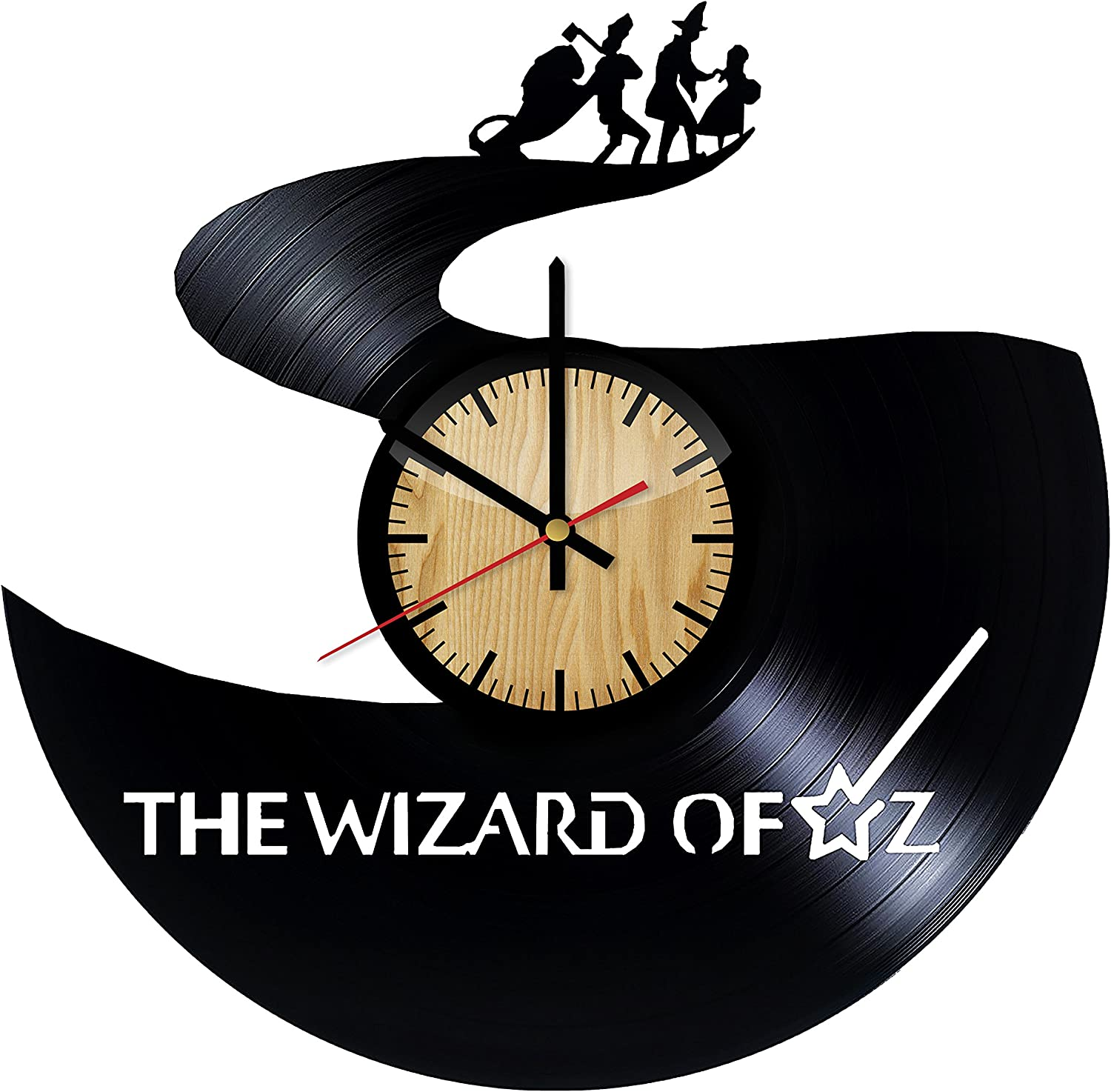 superman nursery decor.htm amazon com home   crafts the wizard of oz design vinyl wall clock  wizard of oz design vinyl wall clock