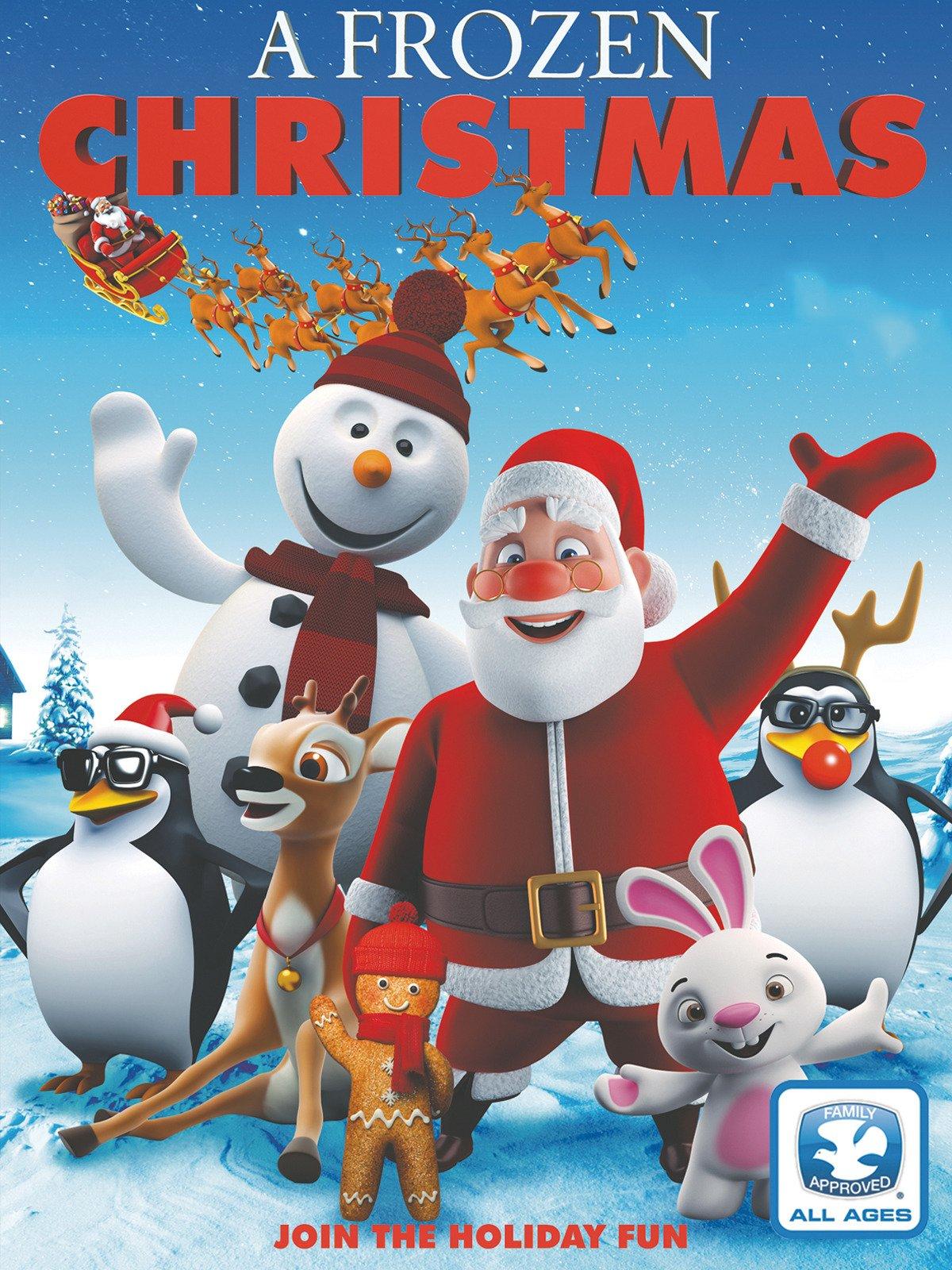 Amazon A Frozen Christmas Evan Tramel