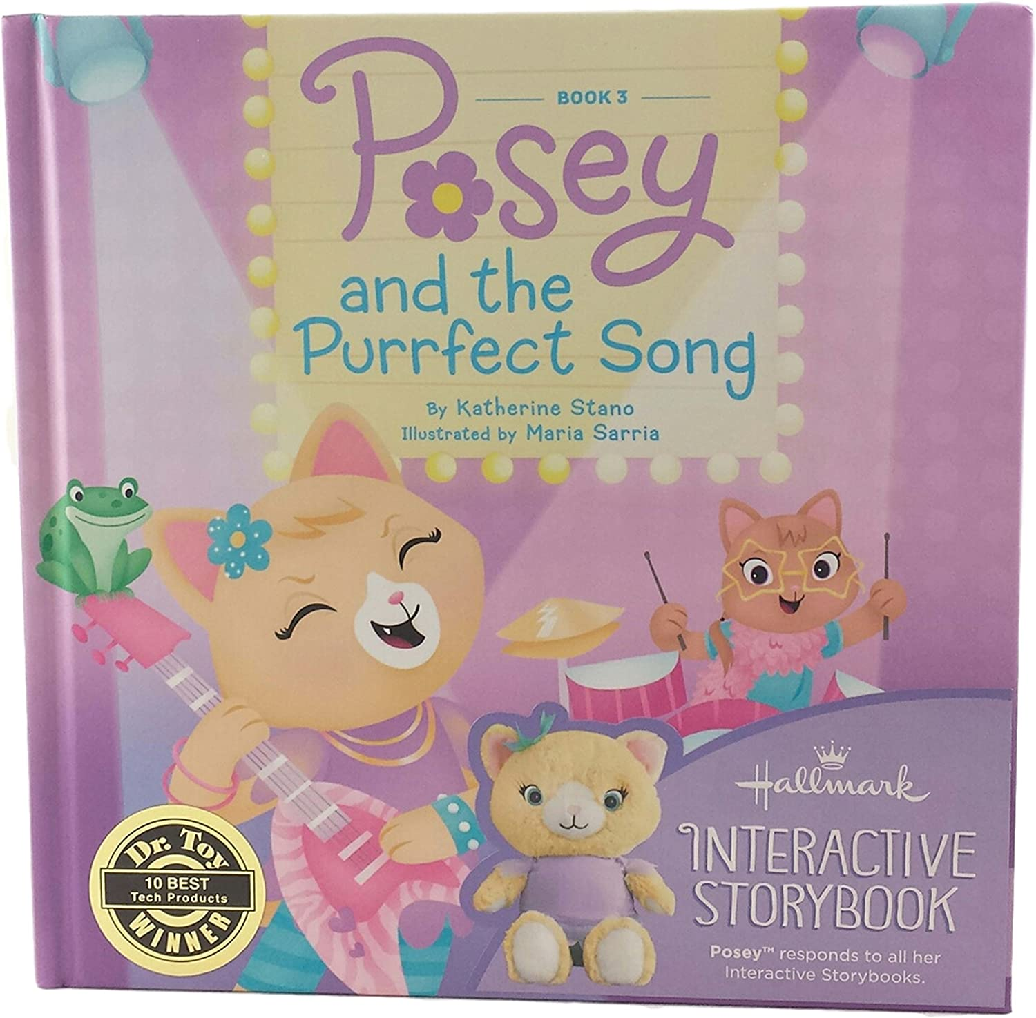Posey Interactive Book and Toy