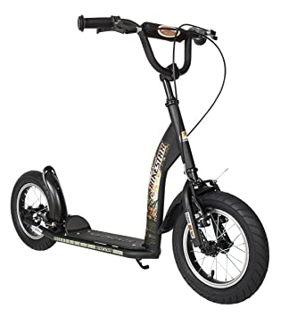 04016ac059d BIKESTAR Kick Scooter with brakes, mudguard and air tires for Kids 7 year  old