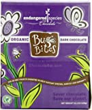 Endangered Species Organic Bug Bites, Dark Chocolate, 0.35 Ounce (Pack of 64)