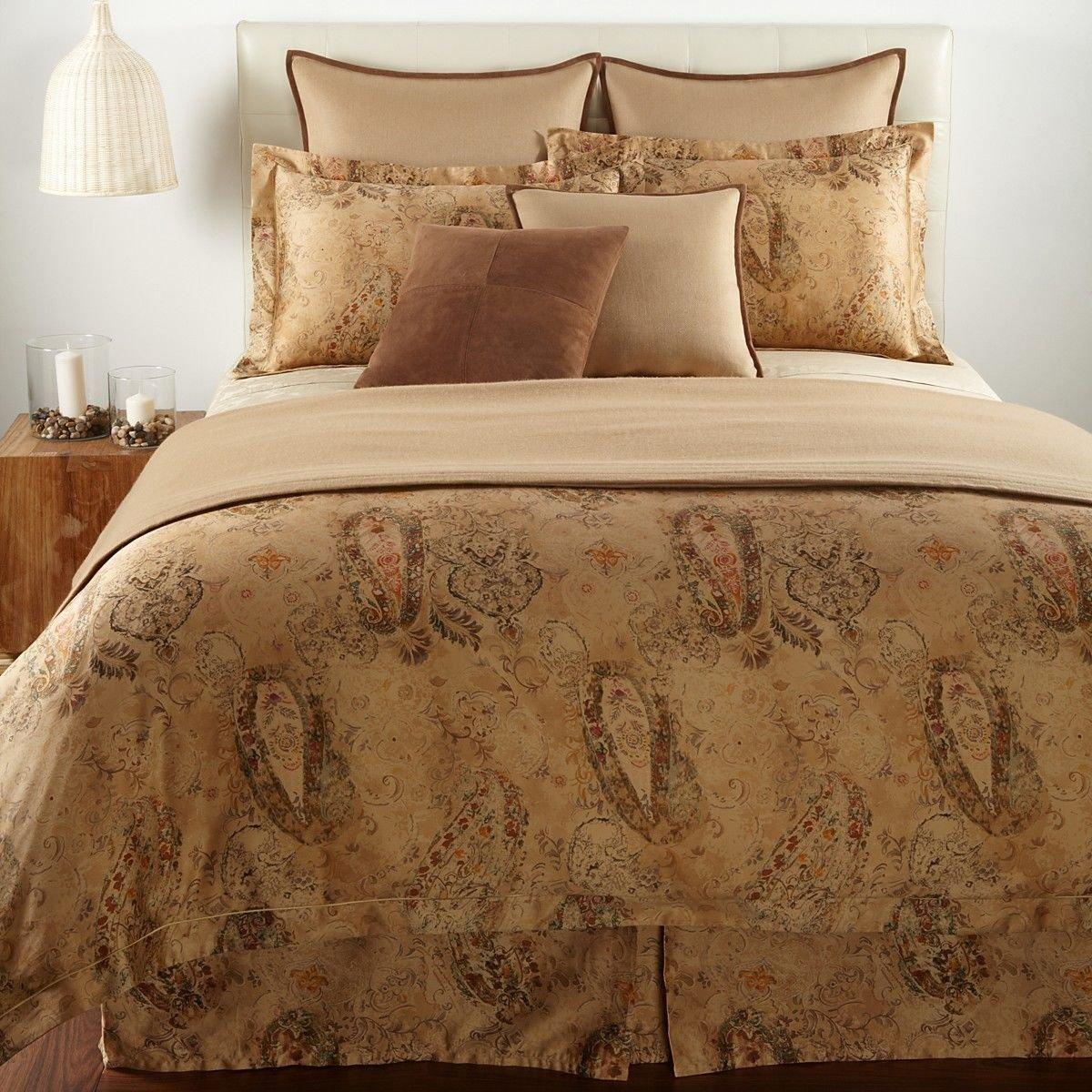 Ralph lauren bedroom - Amazon Com Ralph Lauren Verdonnet Paisley Full Queen Comforter Kitchen Dining