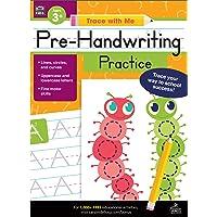 Carson Dellosa Trace With Me: Pre-Handwriting Practice Workbook—PreK-Grade 2 Writing Practice, Line, Circle, Curve…
