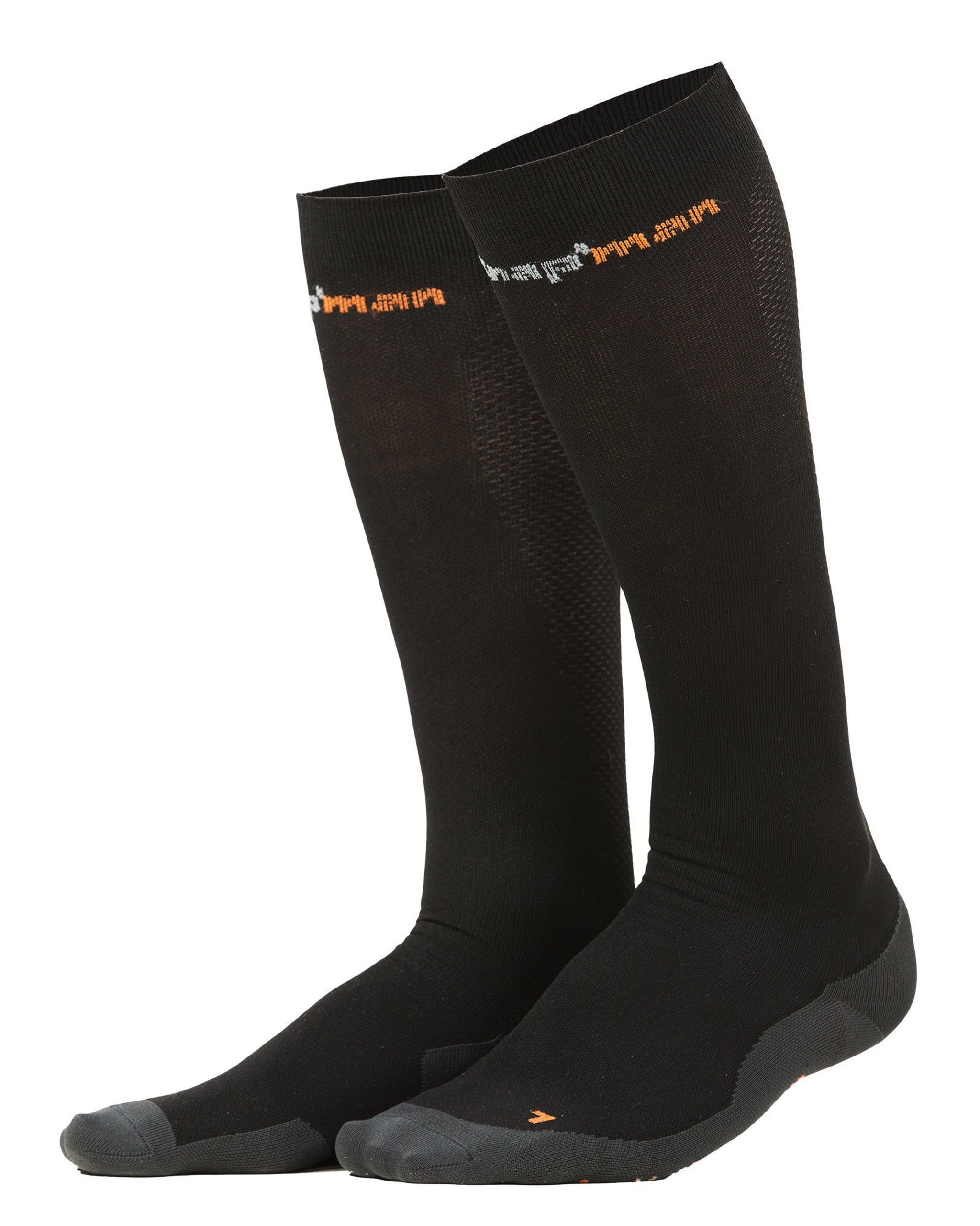 Knap'man Men's Ultra Strong Compression Socks(Class 1) S Black