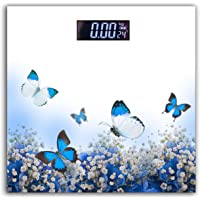 Thick Unbreakable Glass Electronic Digital Personal Bathroom Body Weight Weighing Scale