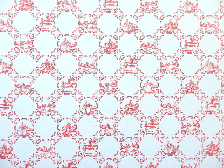 Casa de muñecas en miniatura de impresión de color rosa pálido crema oakdene Perla Wallpaper
