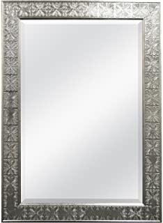 mcs 24 by 36 inch beveled mirror 32 by 44 inch medallion