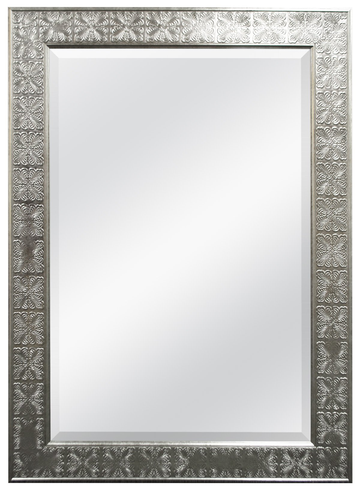 MCS 24x36 Inch Beveled Mirror, 32x44 Inch Overall Size, Champagne (47700) by MCS