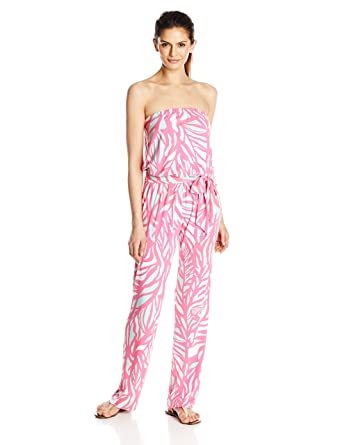 0aa2a67fb9fb Amazon.com  Lilly Pulitzer Women s Tia Jumpsuit  Clothing