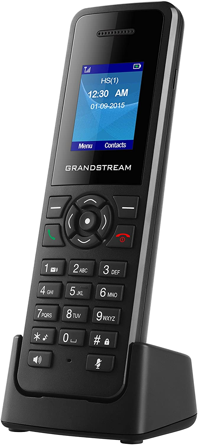 Grandstream DP720 Dect Cordless VoIP Telephone,Black