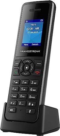 Grandstream Networks DP720 - Teléfono (Teléfono DECT, Terminal inalámbrico, Altavoz, Negro): Amazon.es: Electrónica