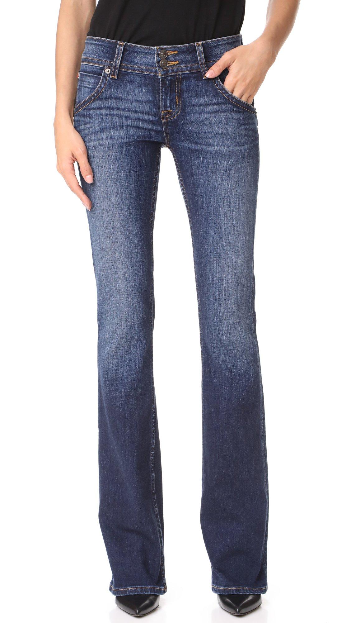 Hudson Jeans Women's Signature Bootcut Flap Pocket Jean, Patrol Unit 2, 27